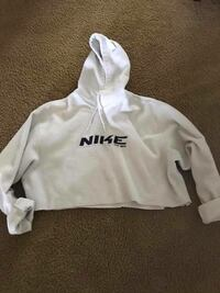 white and black Nike pullover hoodie Kelowna, V1W