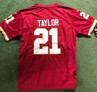Sean Taylor #21 Redskins Jersey - Large Red, New Falls Church, 22046