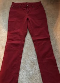 **GREAT FOR FALL**Red jeans - size 2 petite San Antonio, 78228