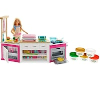 Barbie Ultimate Kitchen Playset 20+ Pieces,  Light Londonderry, 03053