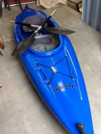 FOR SERIOUS BUYERS ONLY Tuxedo blue canoe