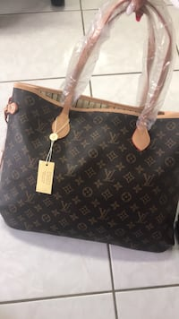 LV bag with wallet set  Calgary, T2B 3G2
