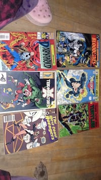 four Marvel comic books collection Montreal, H3W 2E7