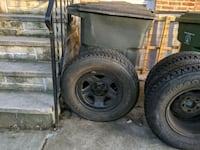 235 75 r15 Firestone Destination a/t xj Cherokee wheels and tires Baltimore, 21230