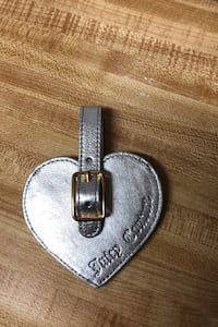 juicy couture luggage tag