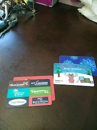 Gamestop,ColdStone multi restaurant gift cards Washington, 20001