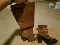 Pair of brown boots Bowie, 20720
