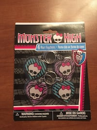Set of 4 Monster High Keychains  Sarnia, N7S