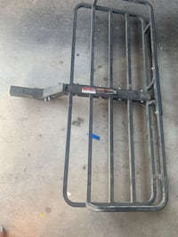 Tow hitch cargo rack