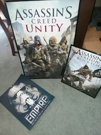 Assassins creed and starwars posters! Vacaville, 95688