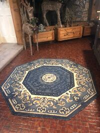 "Area Rug Octagon 5'3""x5'3"""