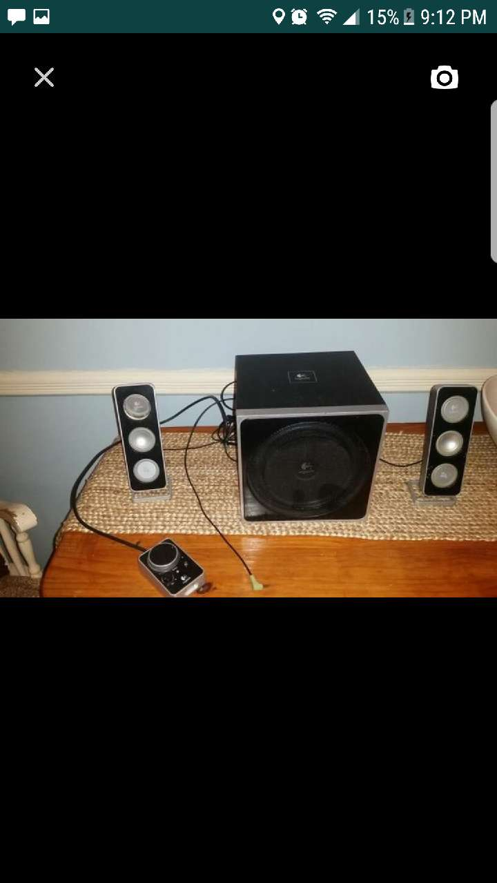 Speakers and bass unit