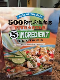 500 Fast & Fabulous Five Star 5 ingredient recipes cookbook Wilmington, 28409