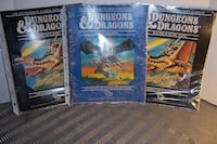 Vintage D&D Manuals Cornwall
