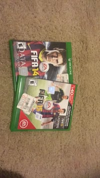 two Xbox 360 game cases Woodbridge, 22193