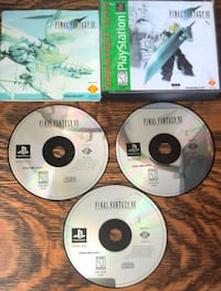 Final Fantasy VII - PS1  London