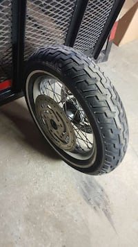 harley road king front tire and rim Indianapolis, 46268