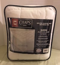 Queen mattress pad - new in package