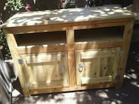 brown wooden cabinet with drawer Albuquerque, 87105