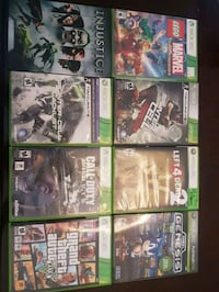 assorted Xbox 360 game cases St. Albert, T8N 6R8