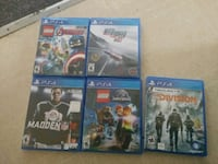 four assorted PS4 game cases Haverhill, 01832