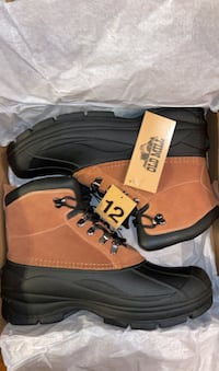 Men's insulated boots new