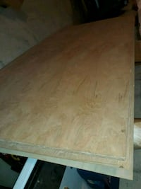 4x8 plywood and 4x8 laminate (4 pieces) Waldorf