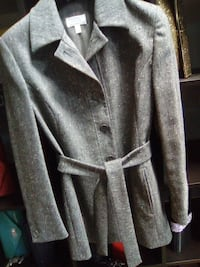 cappotto button-up grigio Salerano sul Lambro, 26857