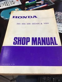 1972 Honda 600 service manual rare Fairfax, 22030