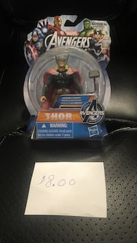 Marvel Avengers Thor action figure with pack Tillsonburg, N4G 1A1