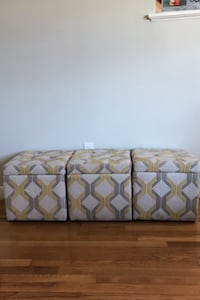 Fabric Storage cubes/Ottomans