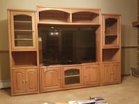Oak wall unit  Hauppauge, 11788
