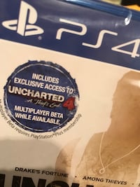 PlayStation game- Uncharted