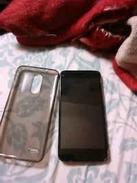 black Samsung Galaxy lg 3with case Victorville, 92392