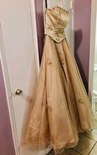 Jessica design champagne colored dress Toronto, M9R 3S8