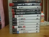 PS3 Games, see description for prices Mississauga, L4X 1T7