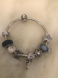 silver-colored charm bracelet Pickering, L1Y 0A1