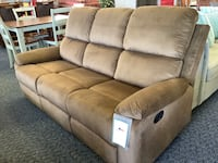 New Senna Double Reclining Brown Sofa  Virginia Beach, 23462