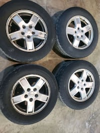 JEEP GRAND CHEROKEE OEM RIMS AND TIRES  Toronto, M1R