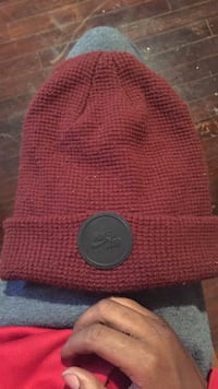 Red nike air knit cap Clarksville, 37043