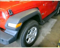 Jeep WRANGLER 5 tires and 5 rims, like brand new New York, 10022