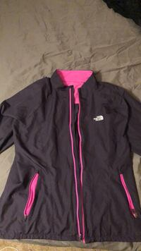 Pink and purple The North Face zip-up jacket Regina, S4N 2W4