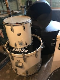 Tama drumset. Granstar Custom. Double bass. 6 pieces. Shells and cases Freehold, 07728