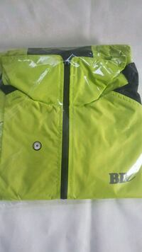 Hi viz full zip rain cover jacket wd hood West Midlands, B23 7EY