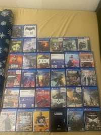 32 PS4 Games  Las Vegas, 89122