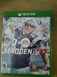 Ea Sports Madden 17 Xbox One game case