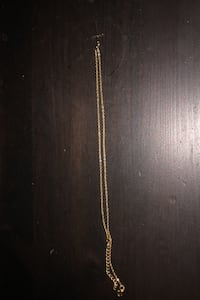 Cross chain necklace  NOT REAL GOLD  Burnaby, V5H 2J8