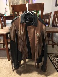 LEATHER FRINGE JACKET Brampton, L6S 2T7