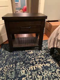 Nearly new Brown Nightstand