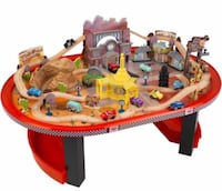 Radiator springs cars play set with table Chantilly, 20151
